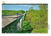 Bridge Over Birdsong Hollow At Mile 438 Of Natchez Trace Parkway-tennessee Carry-all Pouch