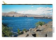 Bridge Over Columbia River At Umatilla-or  Carry-all Pouch