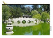 Bridge Over Emerald Water Carry-all Pouch