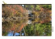 Bridge Over Fall Waters Carry-all Pouch