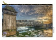 Bridge Over Icey Waters Carry-all Pouch