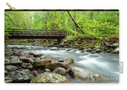 Bridge Over Little Pigeon River Carry-all Pouch