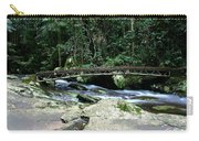 Bridge Over Mountain Stream Carry-all Pouch
