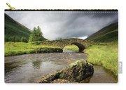 Bridge Over River, Scotland Carry-all Pouch