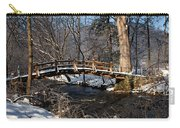 Bridge Over Snowy Valley Creek Carry-all Pouch