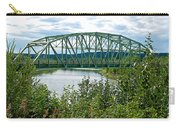Bridge Over Stewart River From Klondike Hwy-yt  Carry-all Pouch