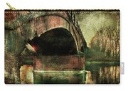 Bridge Over The Canal Carry-all Pouch