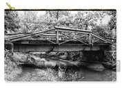Bridge Over The Delaware Canal At Washington's Crossing Carry-all Pouch
