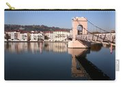 Bridge Over The Rhone River Carry-all Pouch