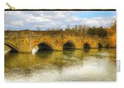 Bridge Over The River Wye Carry-all Pouch