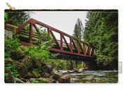 Bridge Over The Snoqualmie River - Washington Carry-all Pouch