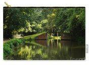 Bridge Over The Wey Navigation In Surrey Carry-all Pouch