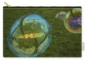 Bridge Reflections In The Bubbles Carry-all Pouch