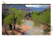 Bridge View Of The Virgin River Carry-all Pouch