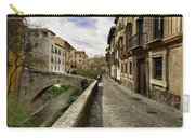 Bridges At Darro Street In Historic Albaycin In Granada Carry-all Pouch