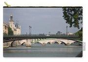Bridges Over The Seine And Conciergerie - Paris Carry-all Pouch