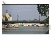 Bridges Over The Seine And Conciergerie - Paris Carry-all Pouch