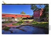 Bridgeton Covered Bridge 4 Carry-all Pouch by Marty Koch