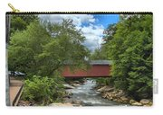 Bridging Slippery Rock Creek Carry-all Pouch