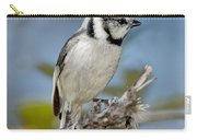Bridled Titmouse Carry-all Pouch