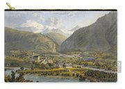 Brig On The Rhone, Bernese Alps Carry-all Pouch