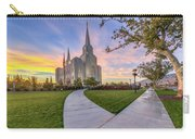 Brigham City Sunset Carry-all Pouch
