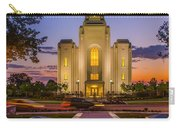 Brigham City Temple Moon N Stars Carry-all Pouch
