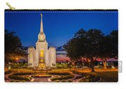 Brigham City Temple Twilight 1 Carry-all Pouch