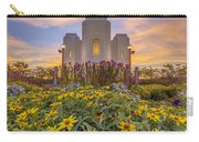 Brigham City Temple Vertical Panorama Carry-all Pouch