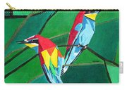 Brighly Colored European Bee-eaters Carry-all Pouch