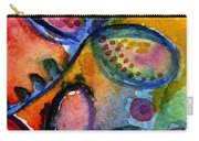 Bright Abstract Flowers Carry-all Pouch