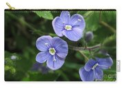 Bright And Blue Carry-all Pouch
