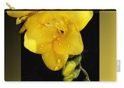 Bright And Yellow Carry-all Pouch
