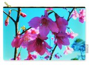 Bright Blossoms Carry-all Pouch