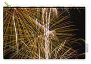 Bright Bursts Of Fireworks Carry-all Pouch