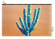 Bright Cactus Carry-all Pouch
