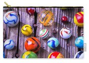 Bright Colorful Marbles Carry-all Pouch
