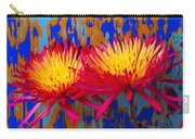 Bright Colorful Mums Carry-all Pouch