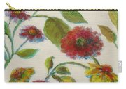 Bright Contemporary Floral  Carry-all Pouch
