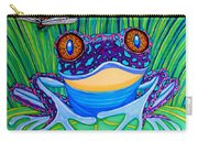 Bright Eyed Frog Carry-all Pouch