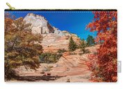 Bright Fall Colors At Zion Carry-all Pouch
