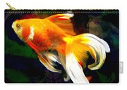 Bright Golden Fish In Dark Pond Carry-all Pouch