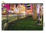 Bright Lights Of London Carry-all Pouch by Jasna Buncic
