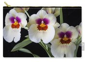 Bright Miltonia Orchids Carry-all Pouch