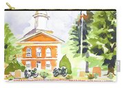 Bright Morning At The Courthouse Carry-all Pouch