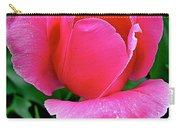 Bright Pink Tulip In Kuekenhof Flower Park-netherlands Carry-all Pouch