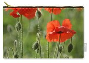 Bright Poppies 1 Carry-all Pouch