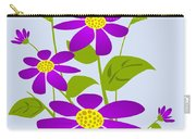 Bright Purple Carry-all Pouch