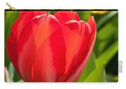 Bright Red Tulip Carry-all Pouch