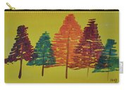 Bright Trees Carry-all Pouch